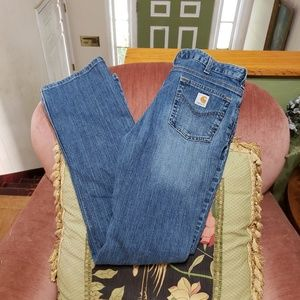 Carhartt Traditional Fit Jeans Size 12/34
